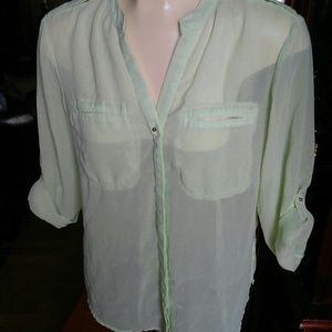 Metaphor Green Blouse
